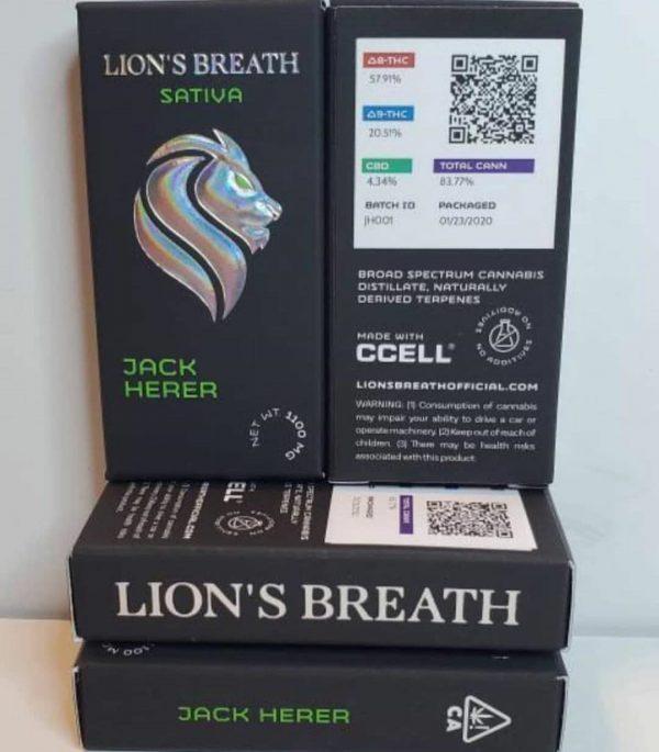 lions breathe carts